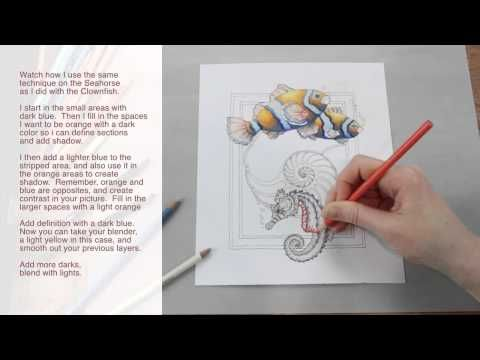 *How to Use Colored Pencil by Jody Bergsma ft. LilySkyArt - awesome blending techniques