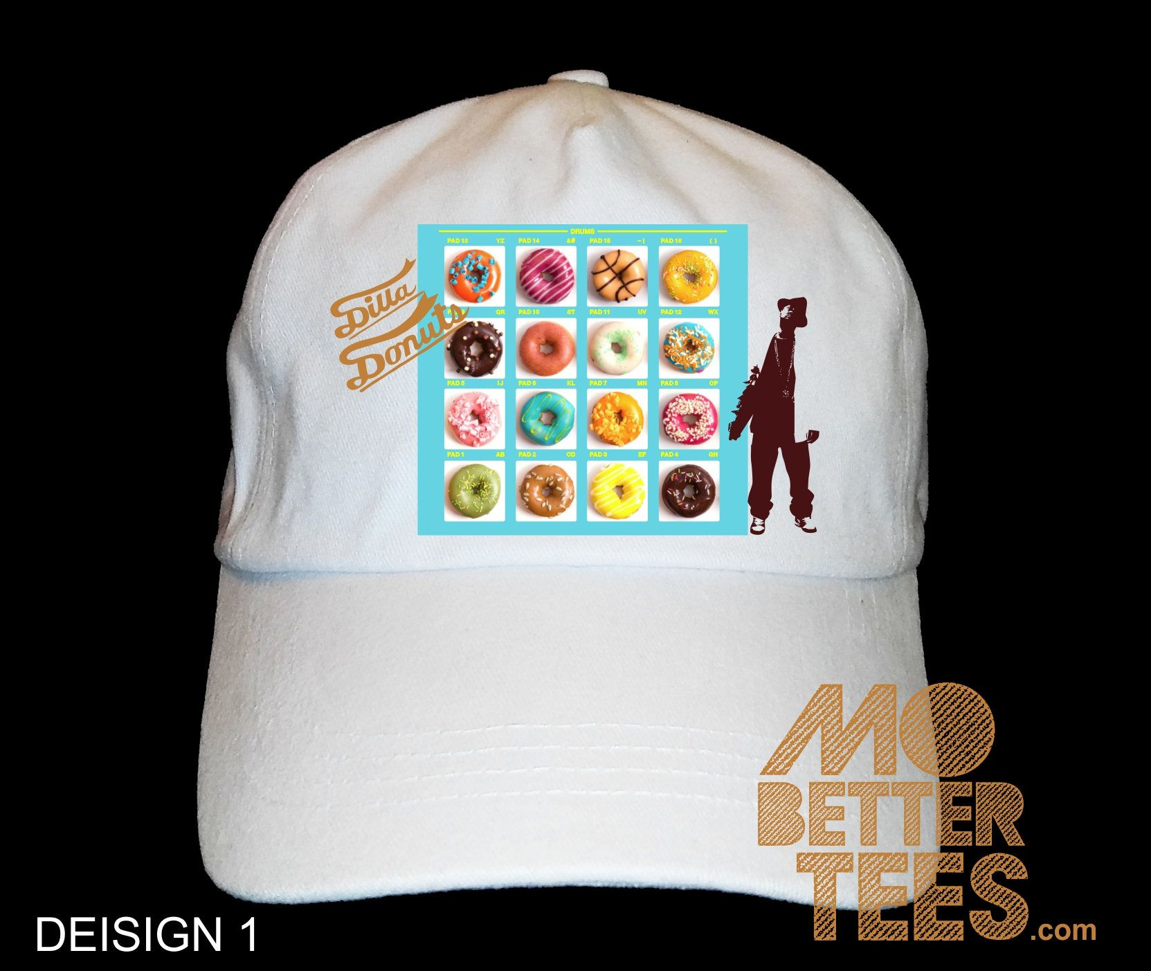 edc231b3389df Discover ideas about J Dilla. Saved by. Bonanza Marketplace. J Dilla MPC  Cartoon Dad Hat baseball cap choose from black or white ...