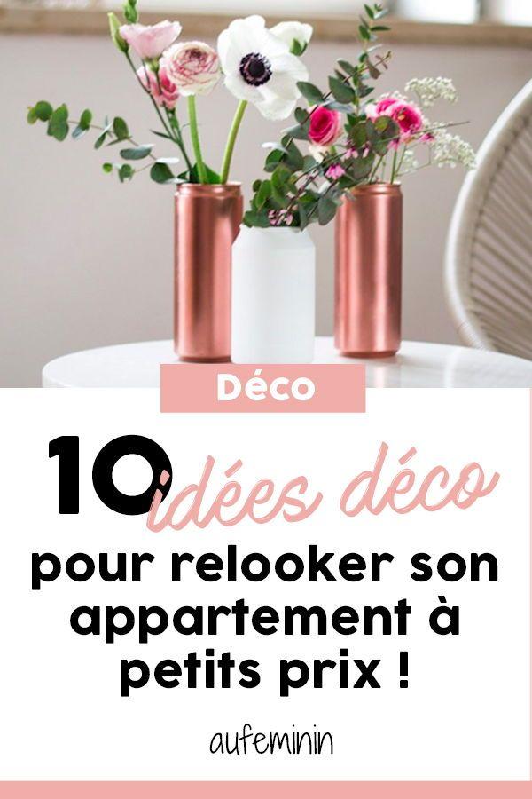 10 idées pas cher pour meubler mon appartement Pinterest - comment organiser son appartement