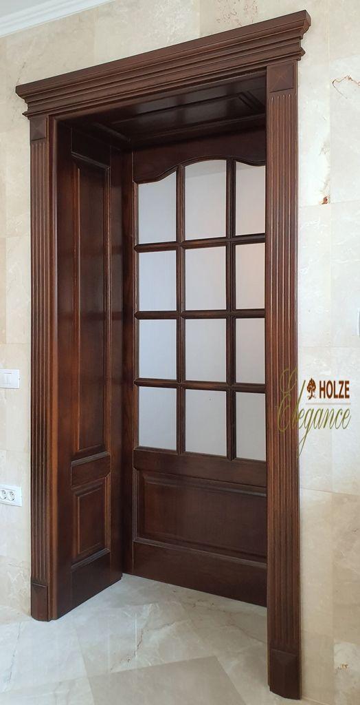 Usa cu capiteliu | usa din lemn stratificat |  usa cu sticla…
