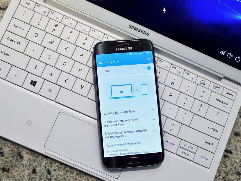 Icymi do you use samsung flow with your windows computer
