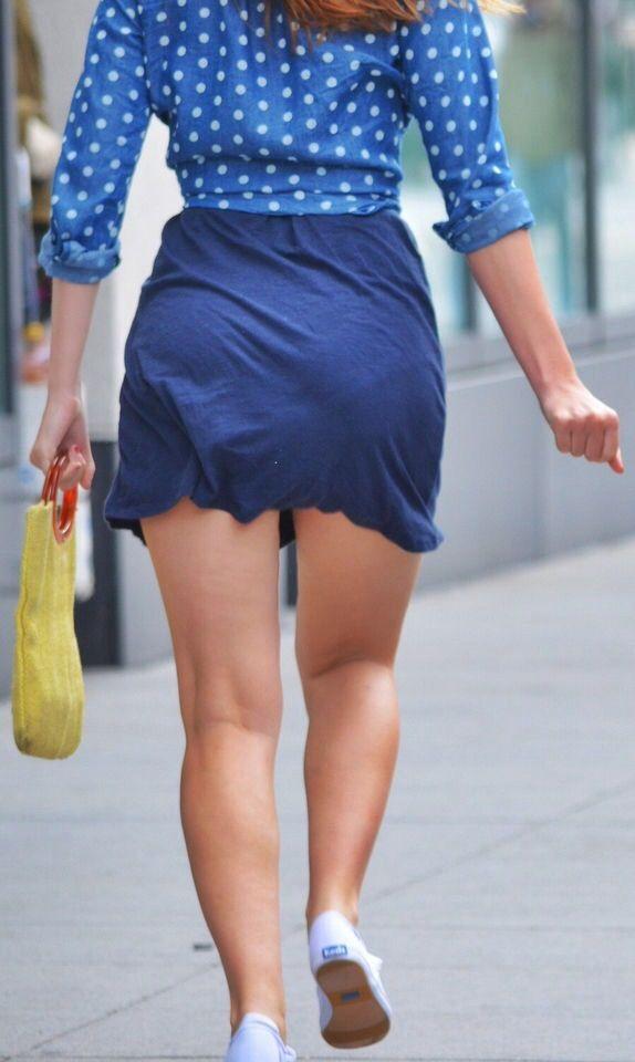 Candid voyeur pics skirt are fucking