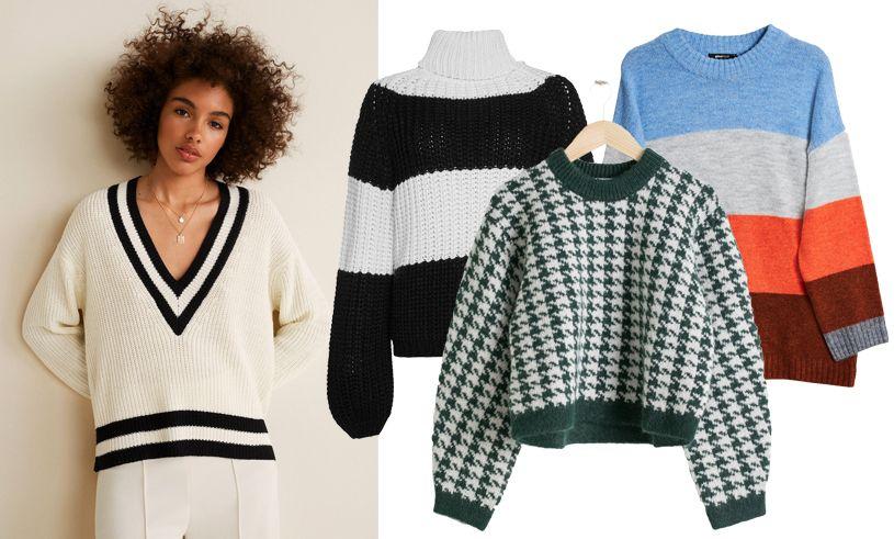 9956167691f7 Stickade tröjor i mönster! | Höstens trender 2018 | Pinterest