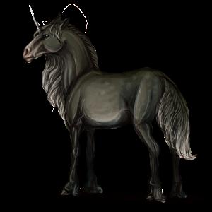 Unicorn Arabian Horse Mouse Gray
