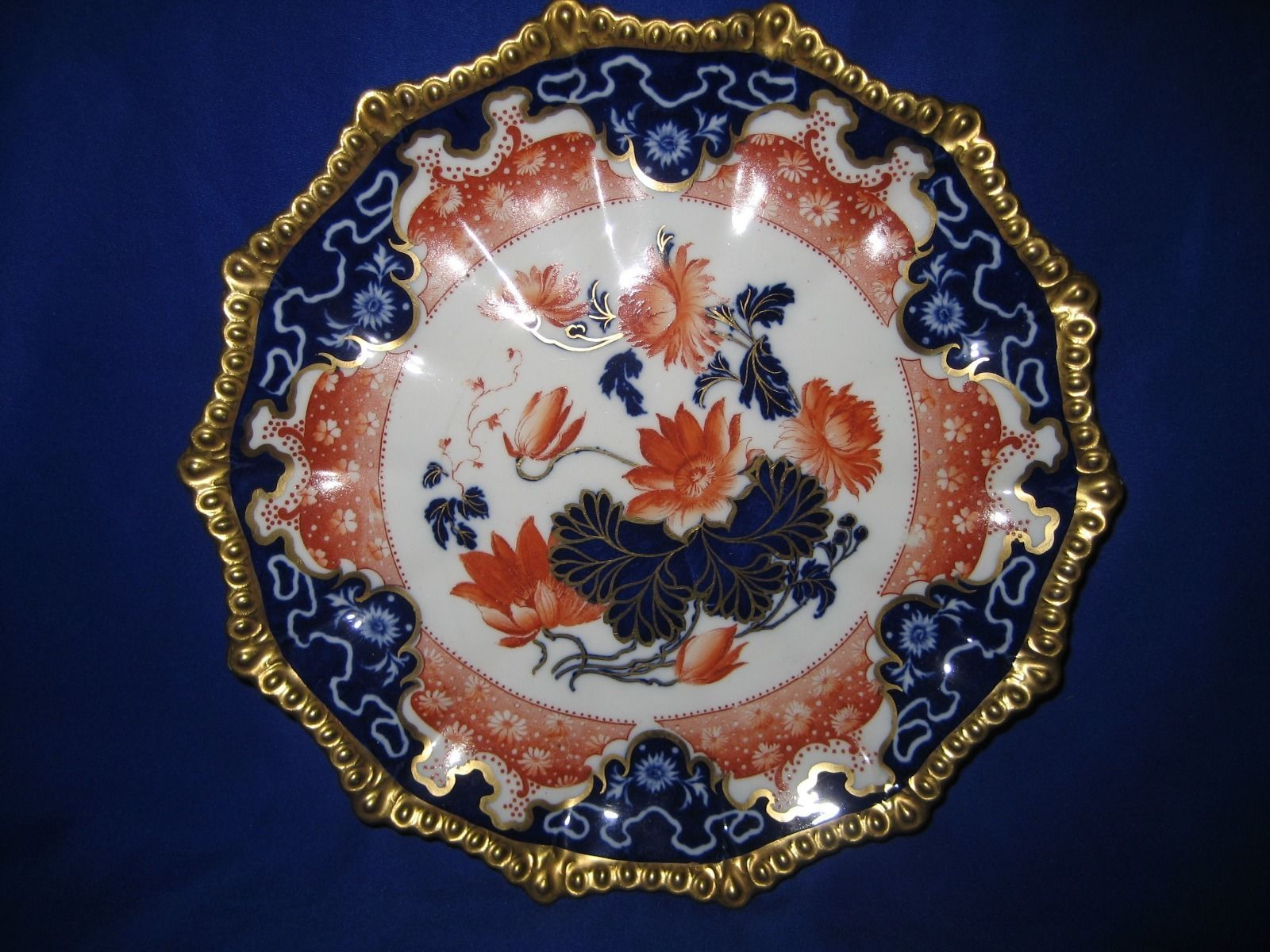 Antique Aynsley Imari Gilt Cabinet Plate | eBay