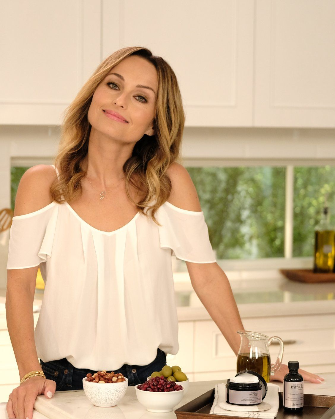 In The Kitchen With Giada De Laurentiis Talking Superfood Oils And Our New Ultimate Miracle Worker Retinol Superfood Giada De Laurentiis Giada Beauty Expert