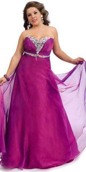 plus size prom dress | Ballkleid, Kleider, Mode