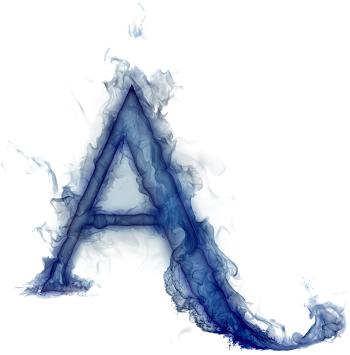 Misterioso Alfabeto Azul.