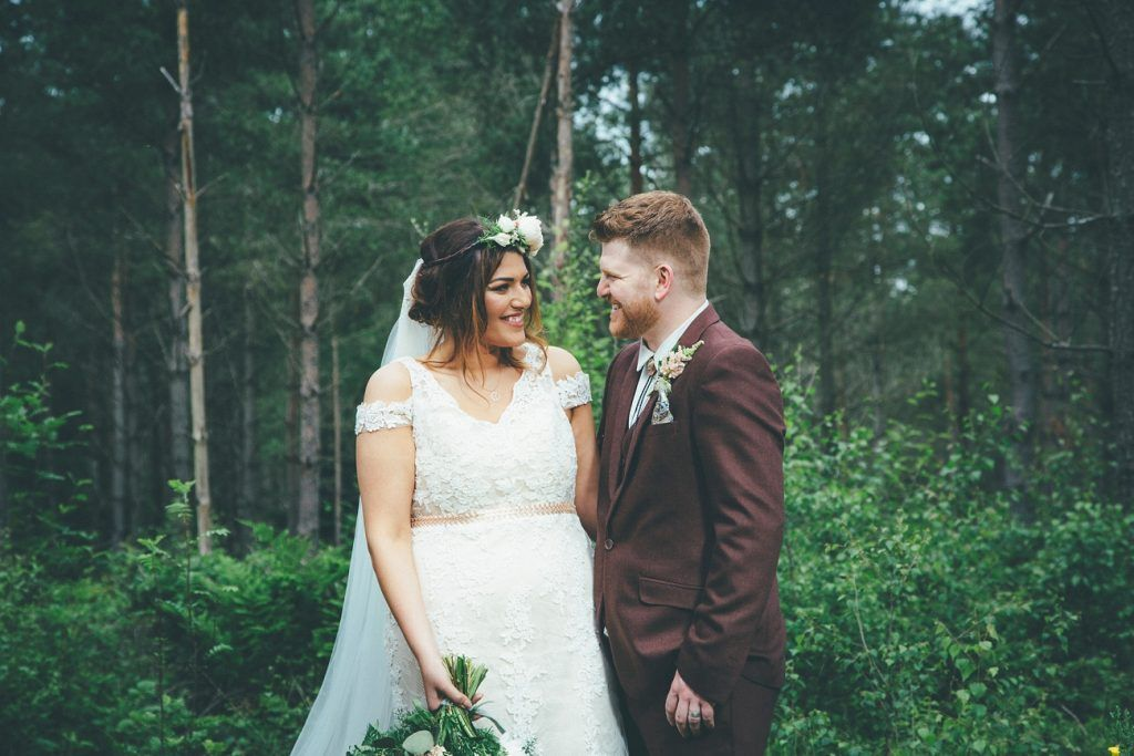 Fife Wedding Photography Letham Village Hall Countryside Vintage Style Woodland