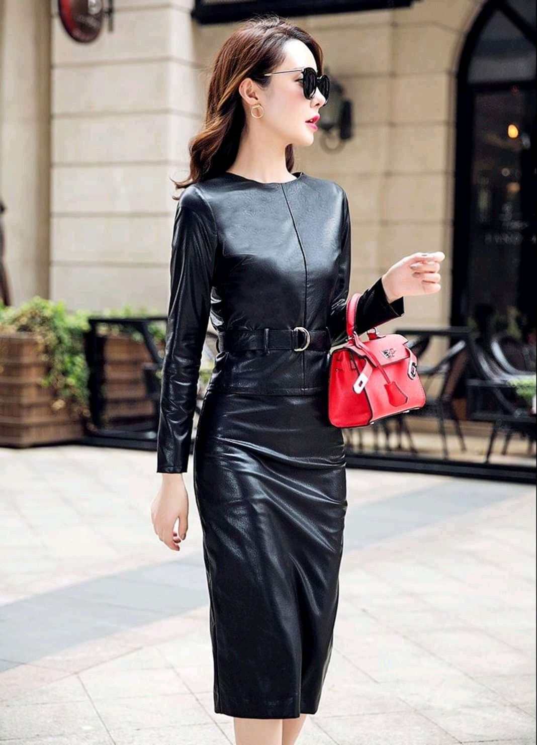 3d2988fdc5ed Dreams Black Leather Dresses, Leather Skirts, Pu Leather, Leather Boots,  Leather Leggings
