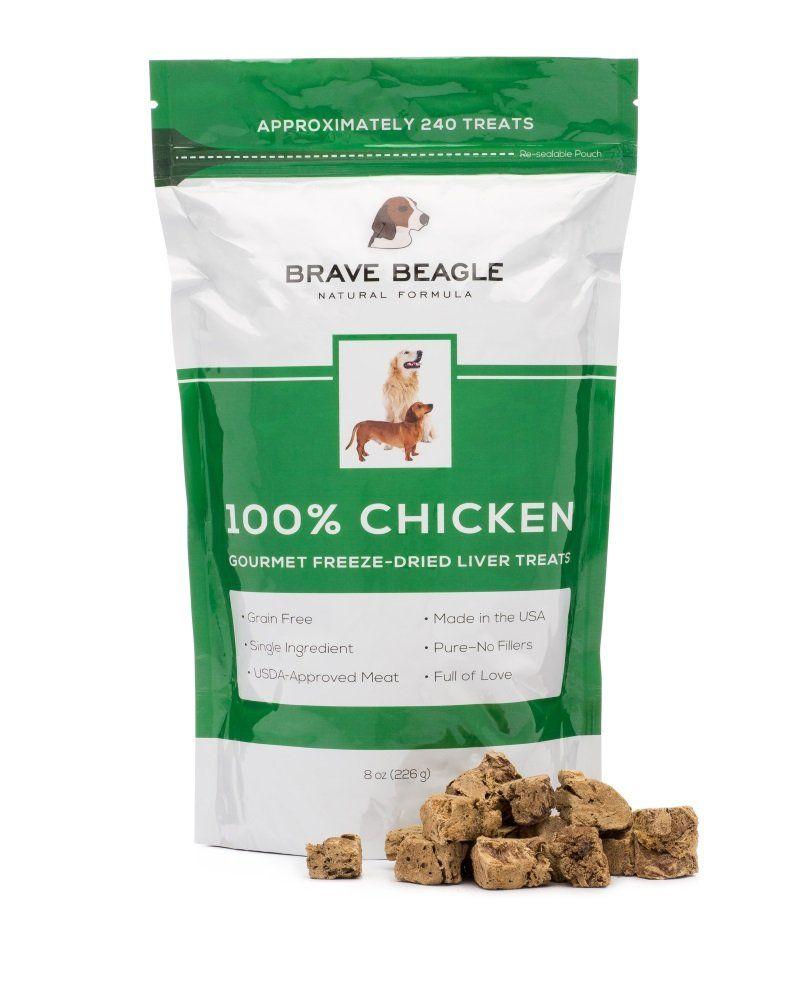 All natural single ingredient usmade chicken liver