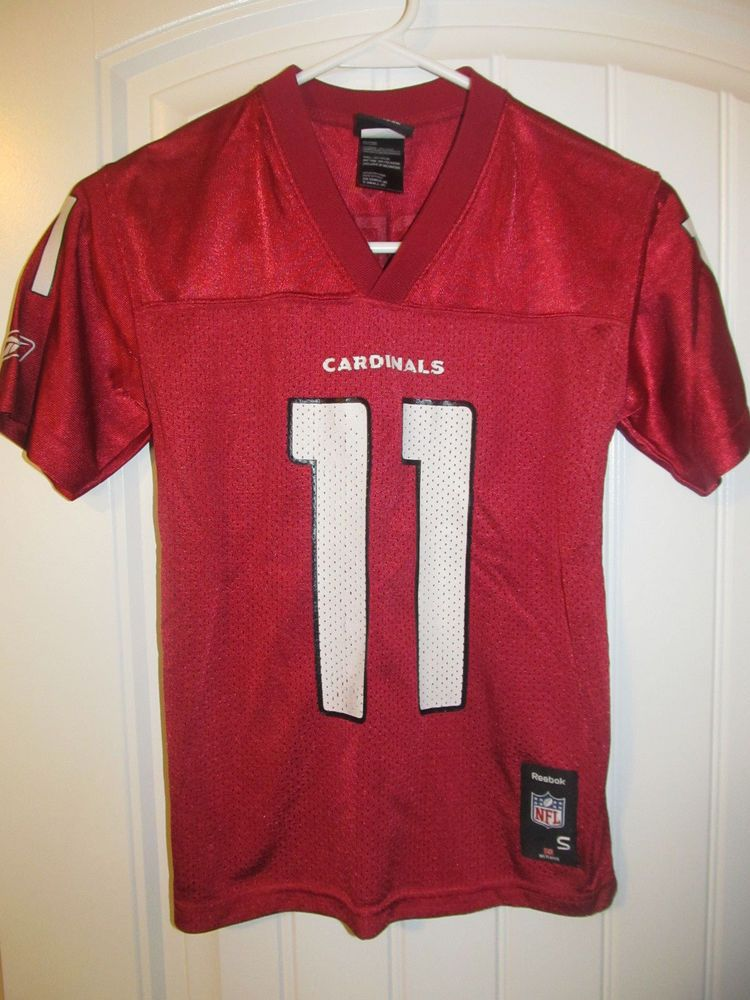 ca5d4b892c21 Larry Fitzgerald - Arizona Cardinals Jersey - Reebok youth small  Reebok   ArizonaCardinals