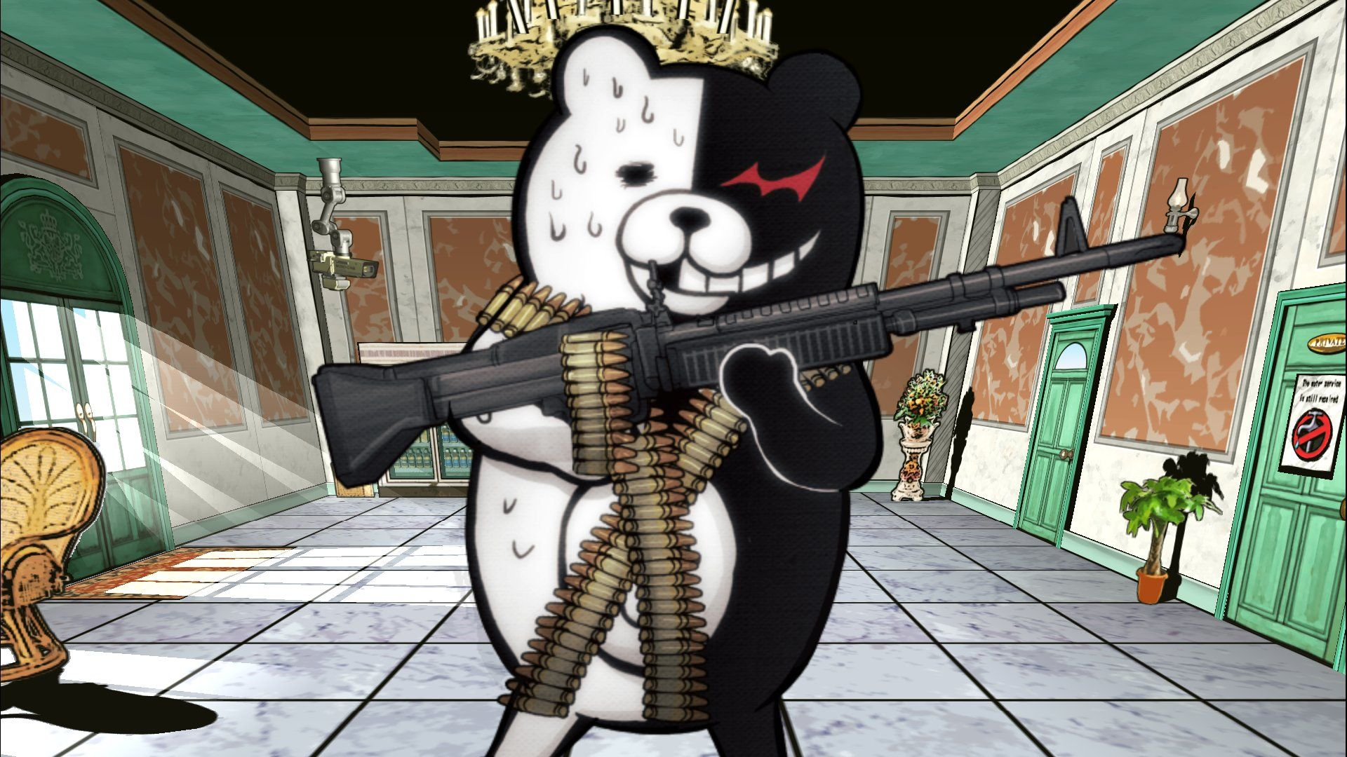 Review Danganronpa 1.2 Reload Even if you don't like