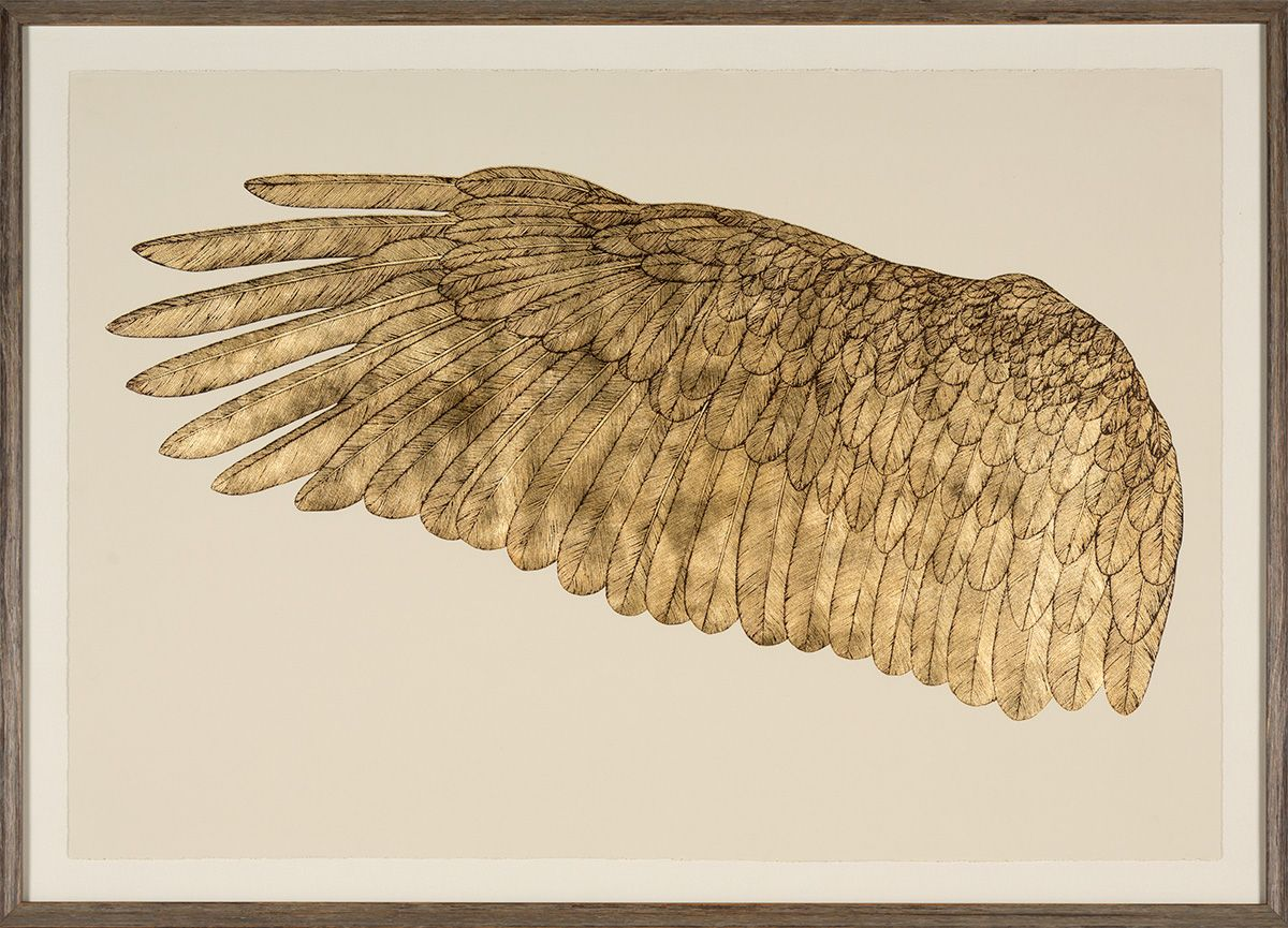 Gallop Express: Wings of Love, Goldleaf Left | Natural Curiosities