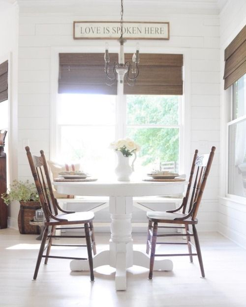 Fresh Farmhouse - D I N E | Pinterest
