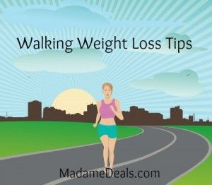 Walking weight loss