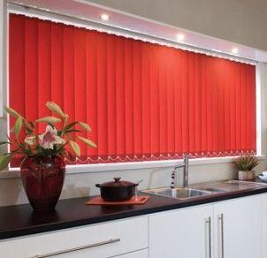 Vertical Blinds In The Kitchen, Blinds Design, Shades Design, Interior  Design,