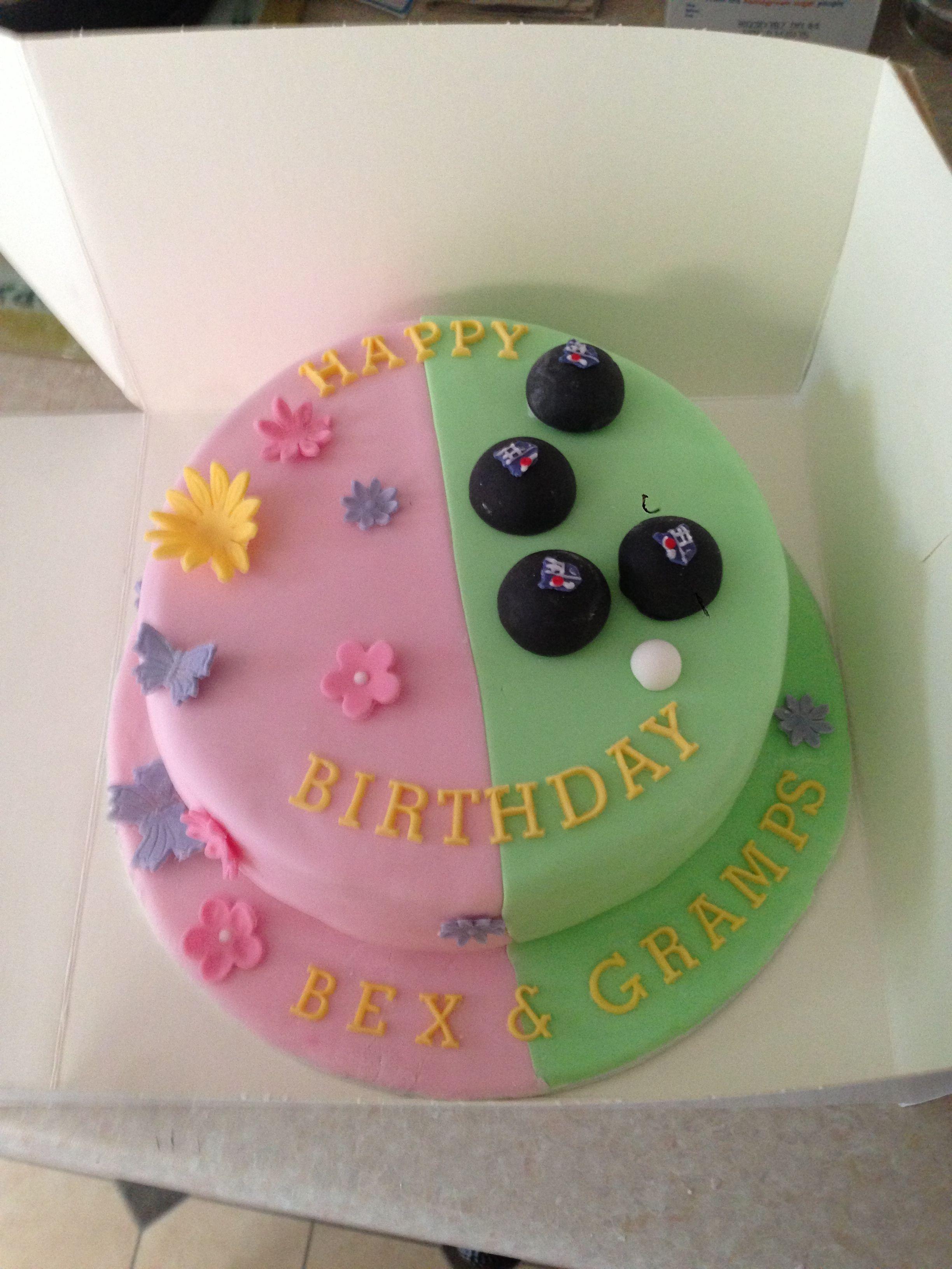 Daughter dad cake