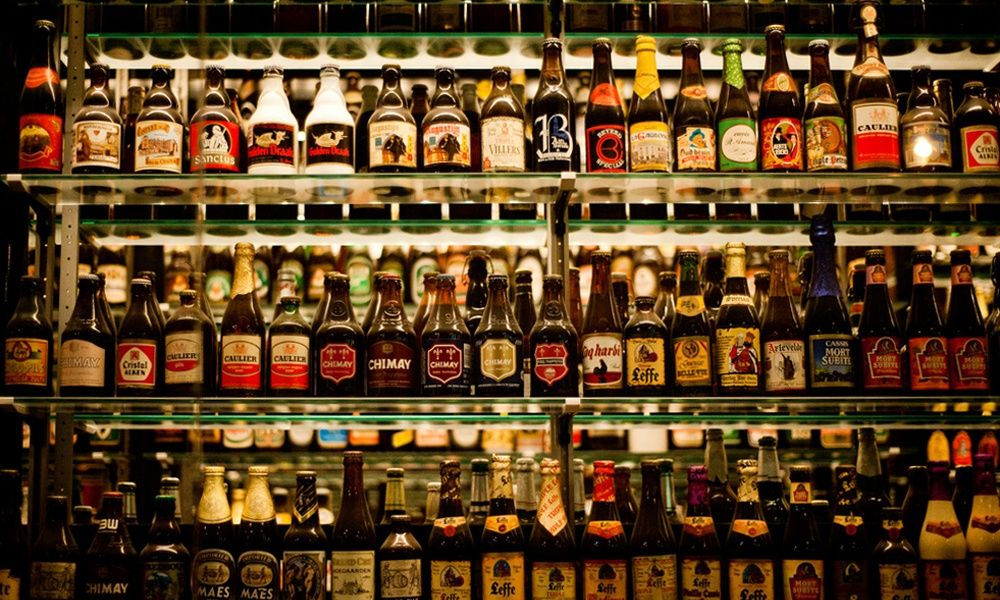 7 Beer Fridges To Store Your Fresh 6 Packs In With Images Brown Bottles Beer Beer Fridge