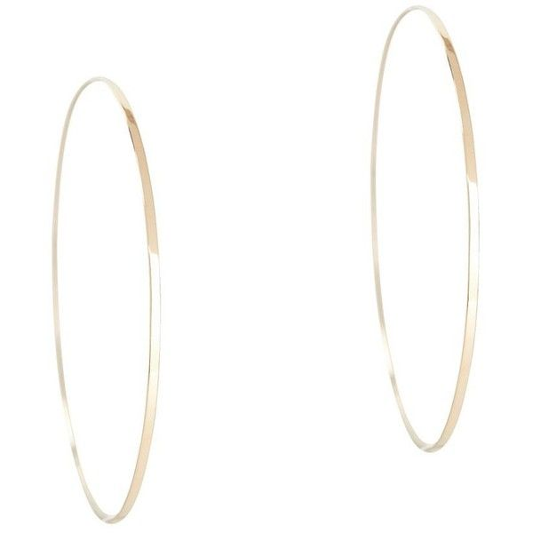 Lana Jewelry Flat Magic 14K Hoop Earrings YSrvk5vc