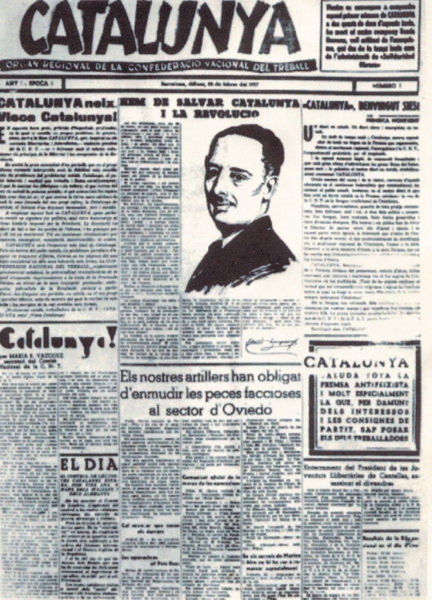 Resultado de imagen de revista catalunya cnt