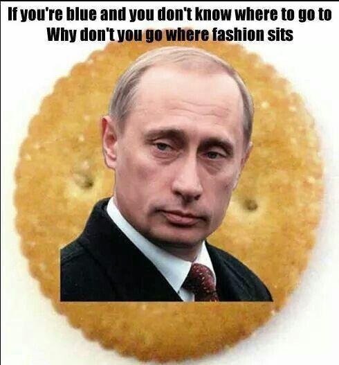Putin on a Ritz