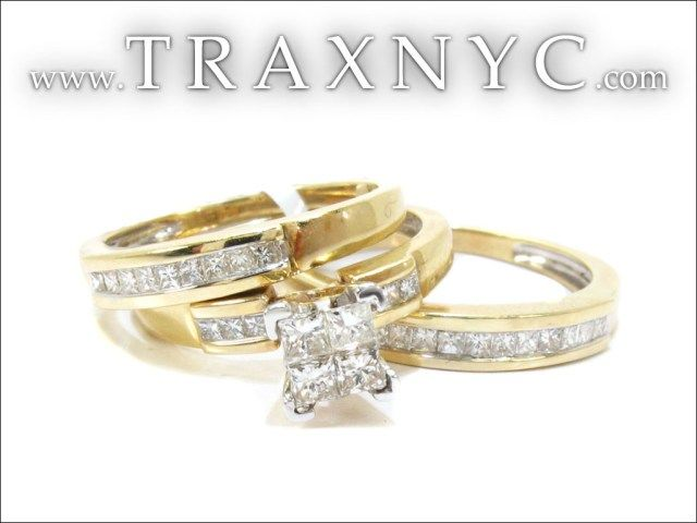 Bride And Groom Wedding Ring Sets 17