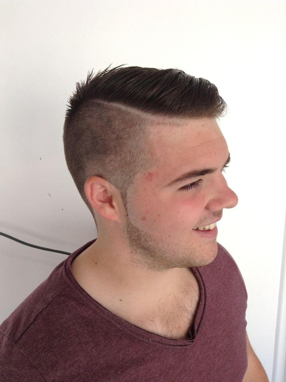 corte de cabello moderno para caballeros