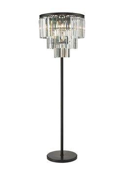 Hautelook Rustic Modern Lighting Victoria 3 Tier Floor Lamp Lamp Floor Lamp Iron Floor Lamp