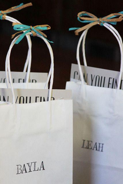 Diy Goodie Bags For Kids At Weddings Wedding With Kids