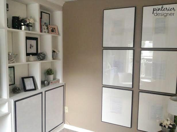 DIY Modern cabinet doors for any bookshelf by Pinterior Designer