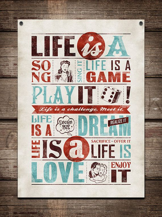 Retro typography / retro poster, typography word art ...