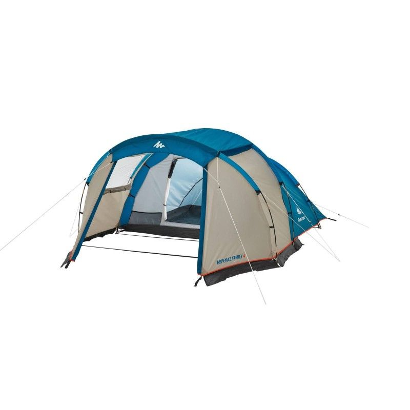 Namiot Kempingowy Arpenaz 4 4 Osoby 1 Sypialnia Family Tent Camping Family Tent Tent