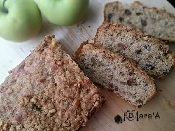 رغيف التفاح والقرفة من براءة عادل Apple And Cinnamon Loaf By Baraa Adel Fruit Cake فواكه خبز Arabic Sweets Desserts Sweets