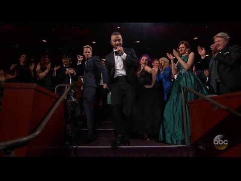 Justin Timberlake - Can't Stop The Feeling (Oscar Performance 2017) - YouTube