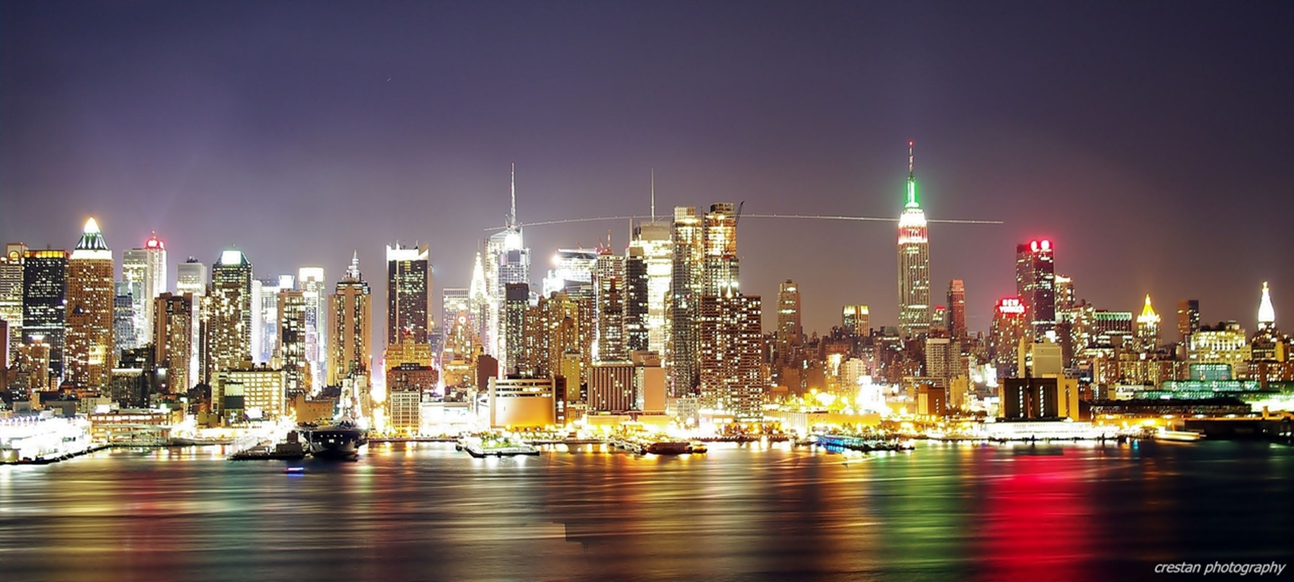 New york skyline kulas3vii 39 s photos night scene new for Places to see in nyc at night
