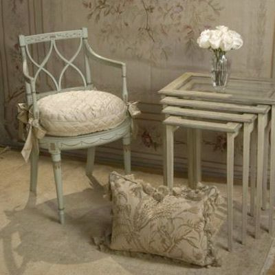 Reminiscent of 18th Century France: French Market Collection Julia Chair from @LaylaGrayce #laylagrayce  #chair #furniture