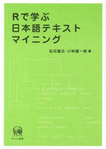 Rで学ぶ日本語テキストマイニング   石田 基広 https://www.amazon.co.jp/dp/489476654X/ref=cm_sw_r_pi_dp_x_dicczbRGD6NPW