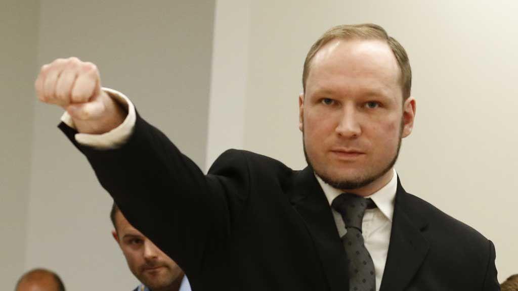 Breivik dømt til 21 års forvaring