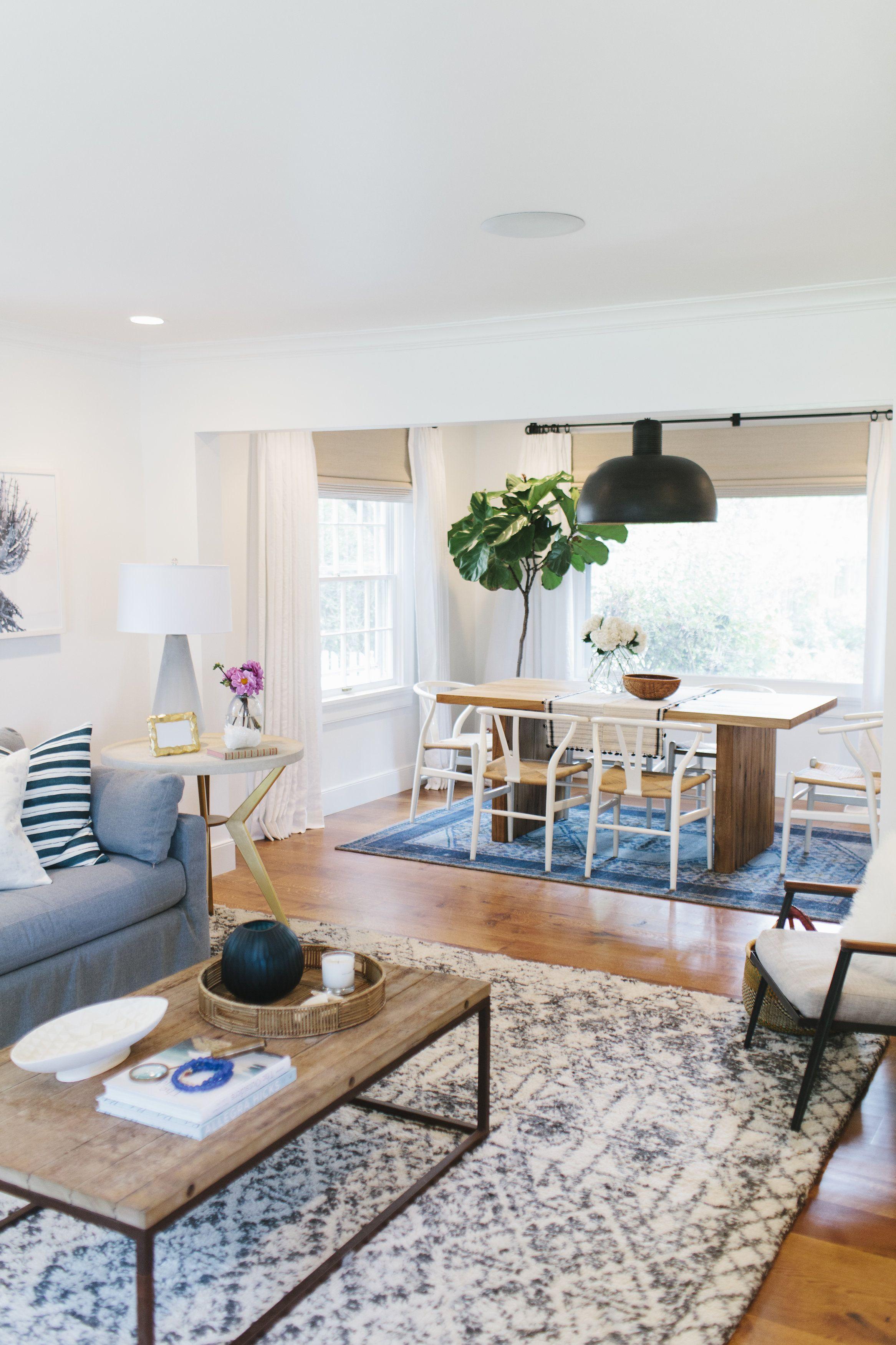 Lynwood Remodel: Living & Dining Room | Living room ...