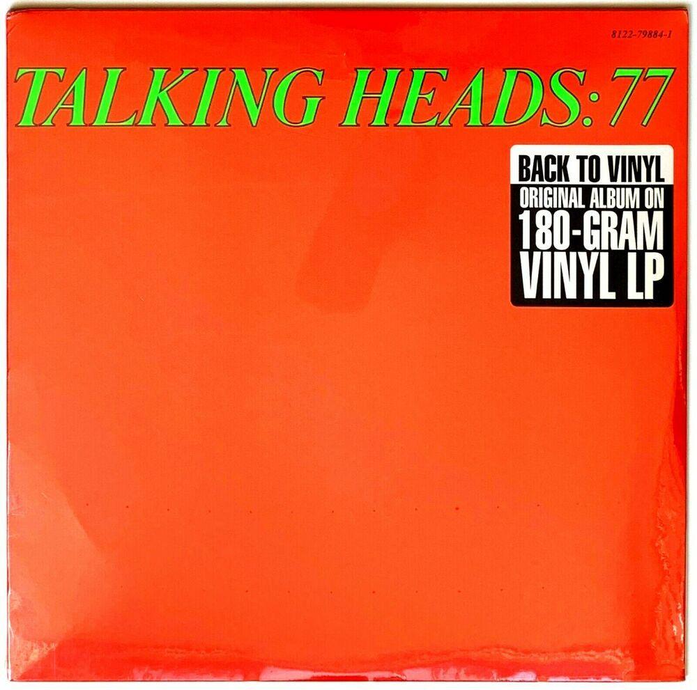 The Talking Heads 77 Current Pressing 180 Gram Lp Vinyl Record Album Sealed Ebay In 2020 Vinyl Record Album Vinyl Records Lp Vinyl
