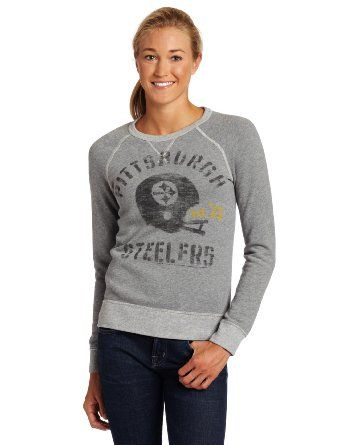 cheap for discount 51654 221e8 Amazon.com: NFL Pittsburgh Steelers Heather Vintage French ...