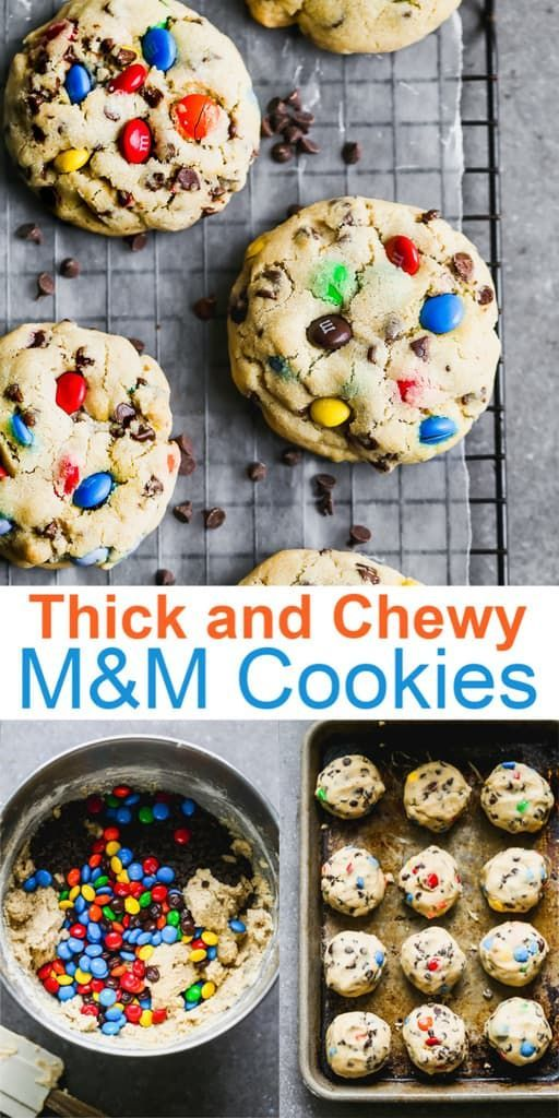 Soft and chewy M&M Cookies are a classic recipe that deserves a place in every recipe box. #tastesbetterfromscratch #M&Mcookies #easy #chewy #recipe #cookies #dessert via @betrfromscratch