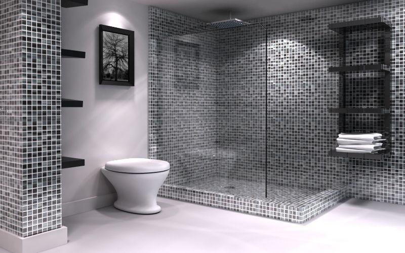 Affordable designer glass mosaic tiles also bathroom ideas pinterest