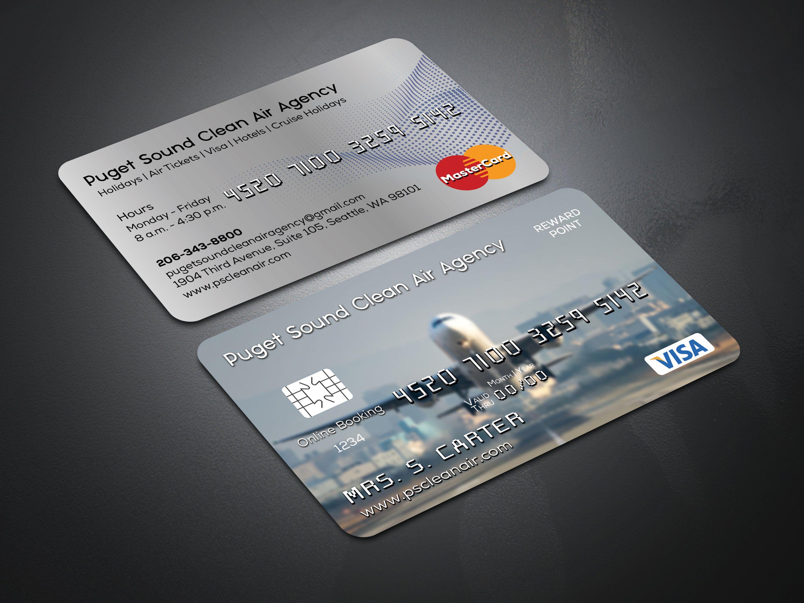 Air Agency Credit Card Templates Psd Card Templates Visiting Cards Business Card Design