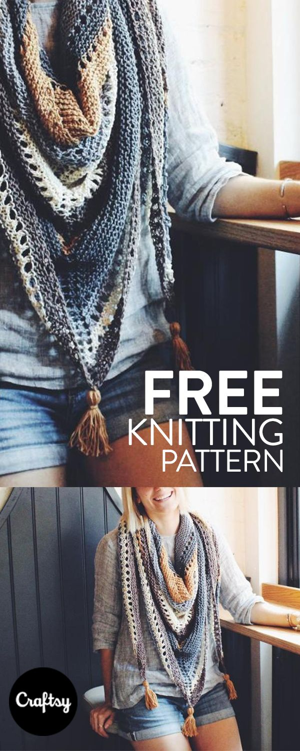 Coffee Shop Wrap #knittingprojects