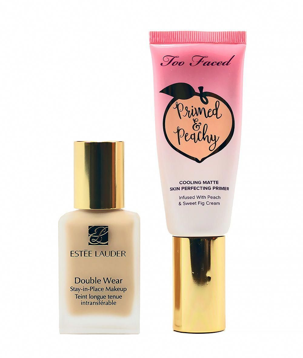The Best Primer Foundation Combo For Oily Skin Oily Skin Care Skin Care Estee Lauder Double Wear Foundation