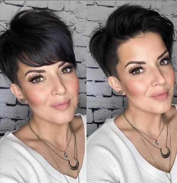 The most fashionable woman short hairstyle for age
