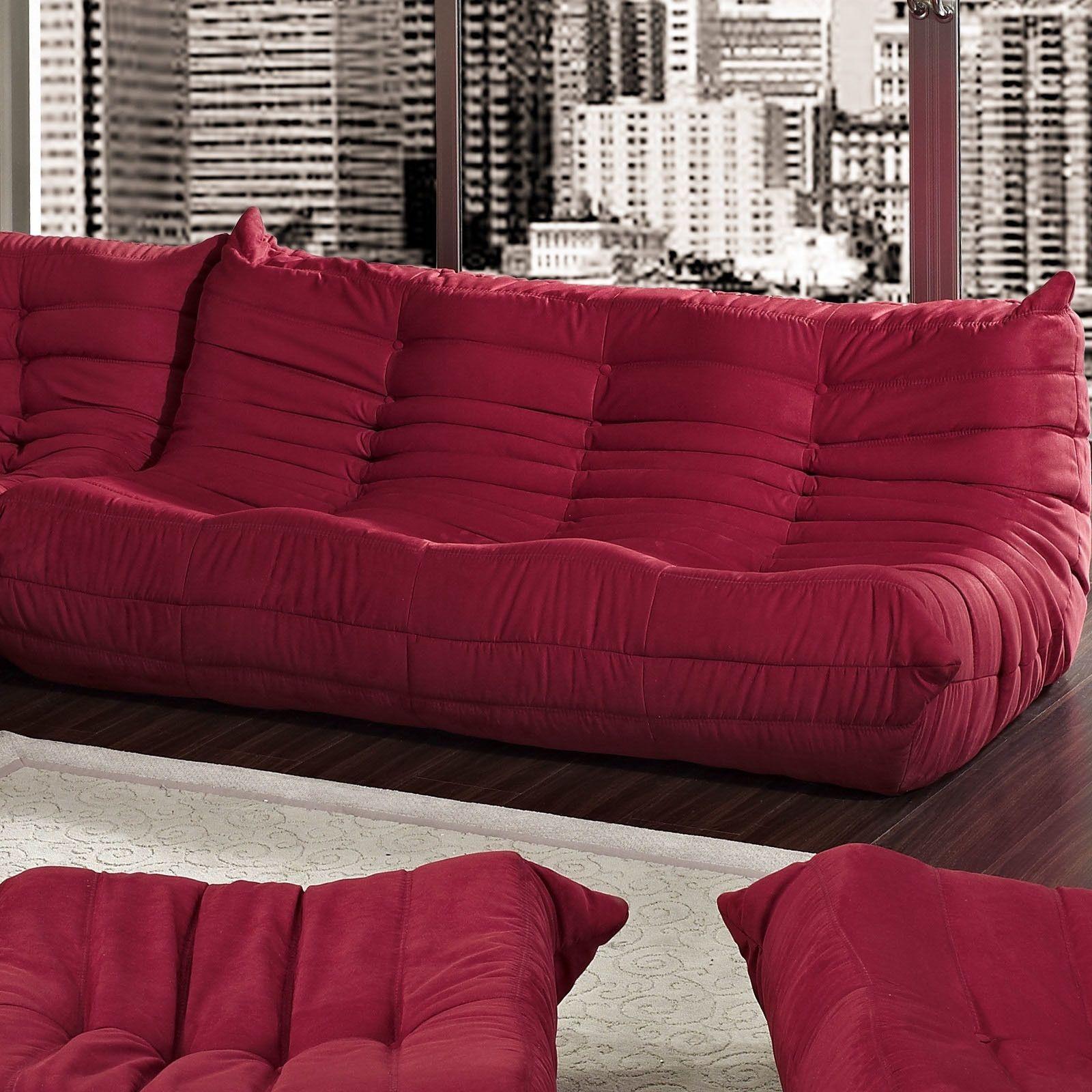 Waverunner Extra Large Bean Bag Sofa Modular sectional