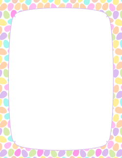 Easter Border 4 Borders And Frames Powerpoint Background Design Borders